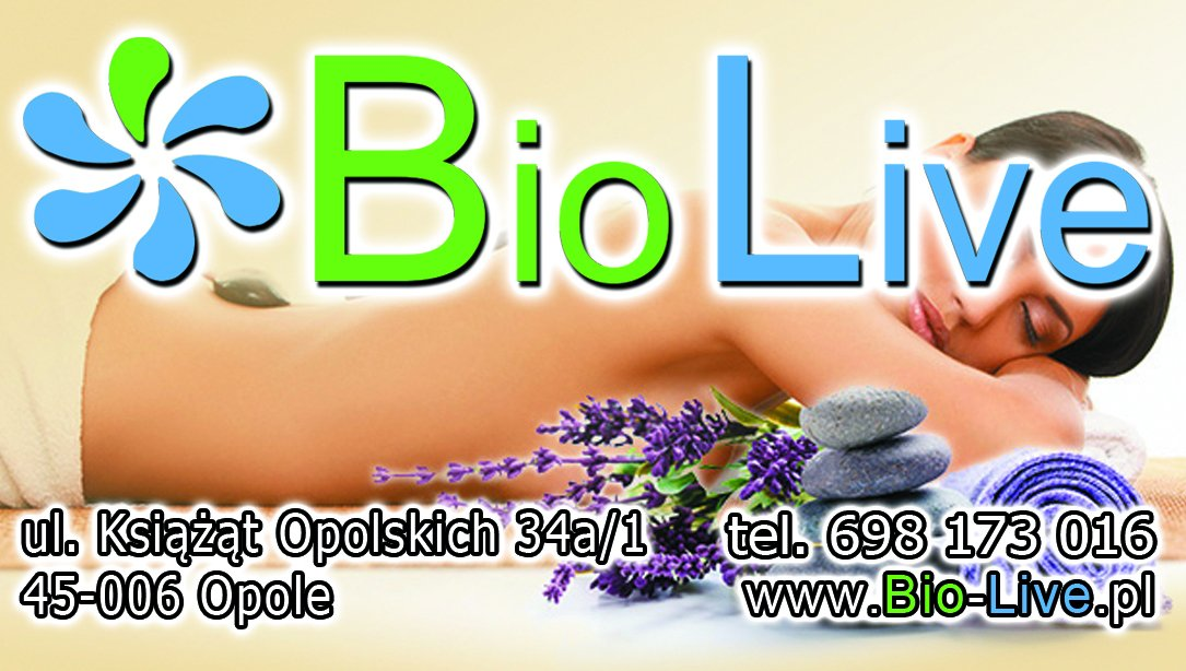 Bio Live gabinet fizjoterapii zaprasza / Opole