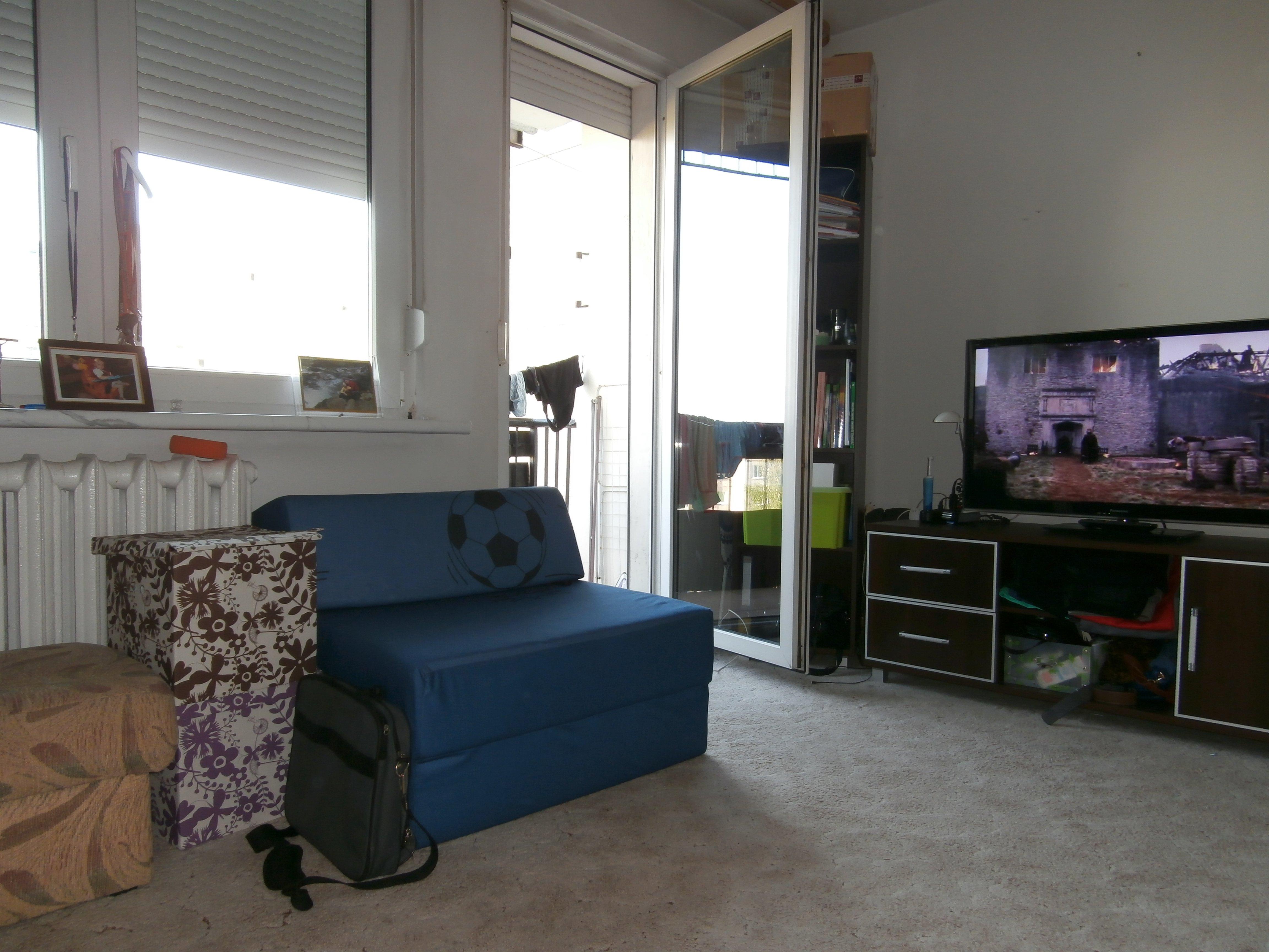 Wyposażony pokój dla jednej lub dwóch osób na Dąbrowszczaków