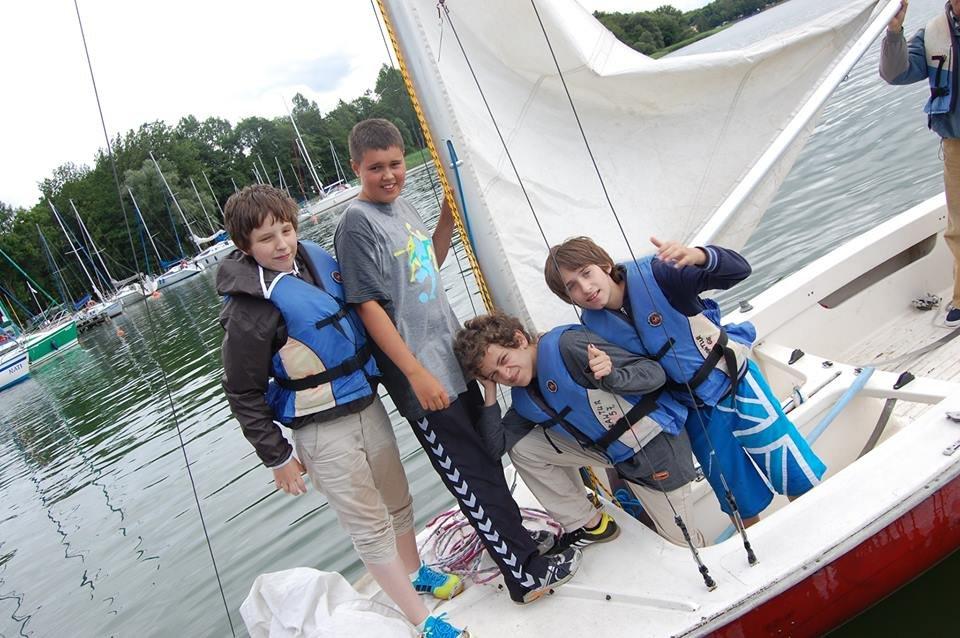 Obóz żeglarski 11-17 lat - Czaplinek