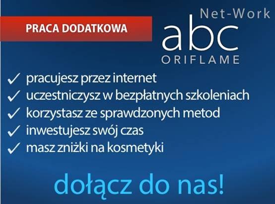 Dołącz do abc Net-Work! Praca dodatkowa.