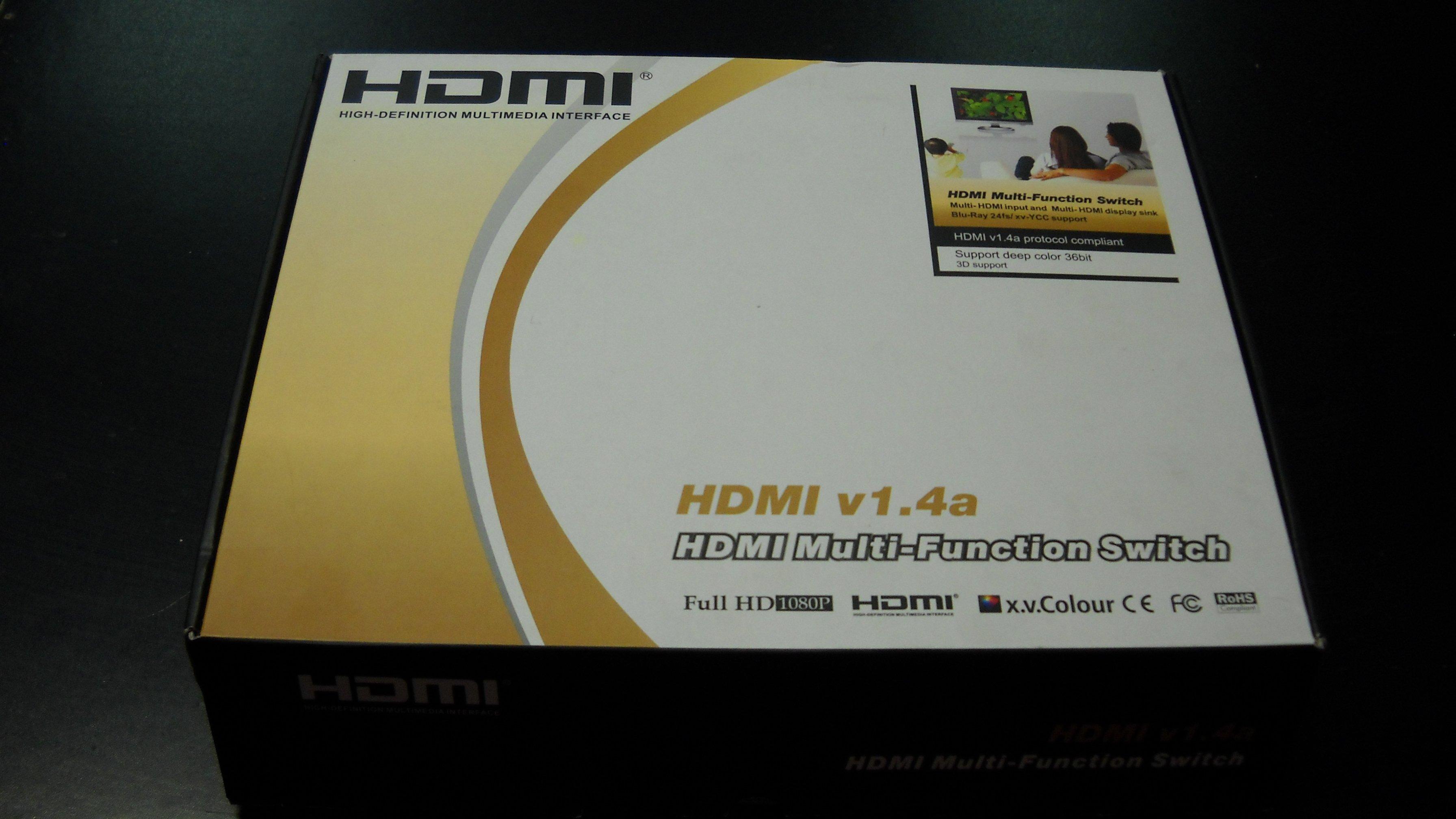 Rozdzielacz HDMI 1x4 n cyfra+ polsat itp. v1.4a - Opole