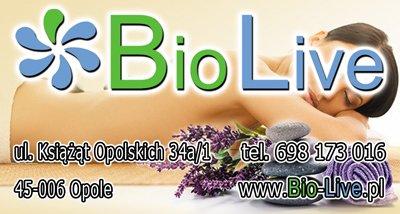Gabinet fizjoterapii Bio Live - zaprasza