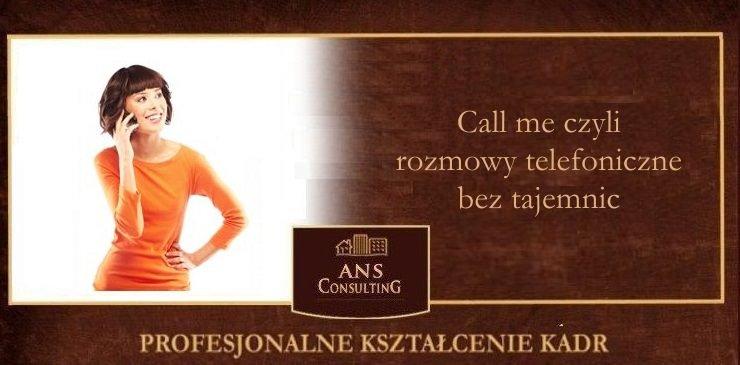 Call me czyli rozmowy telefoniczne bez tajemnic