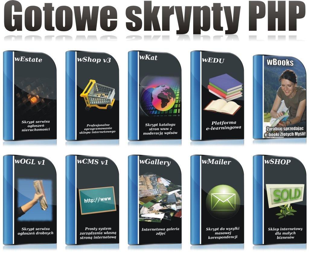Gotowe skrypty PHP