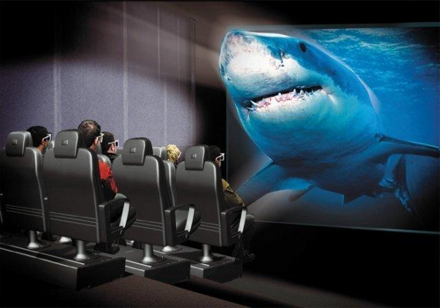 Mini-kino 3D na 6-80 miejsc