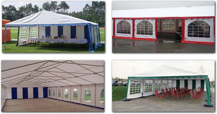 Namiot handlowy 6x12m  3 940,00 zł