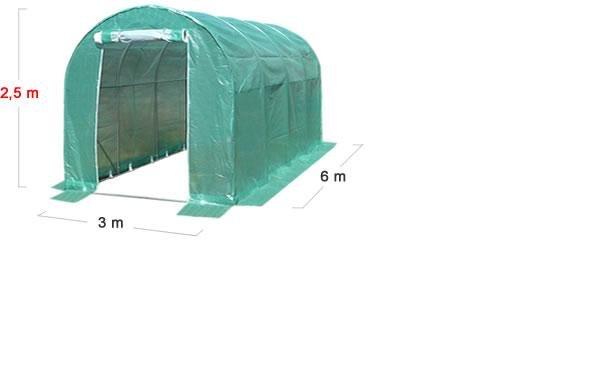 szklarnia tunel foliowy 3x6m 1345zł