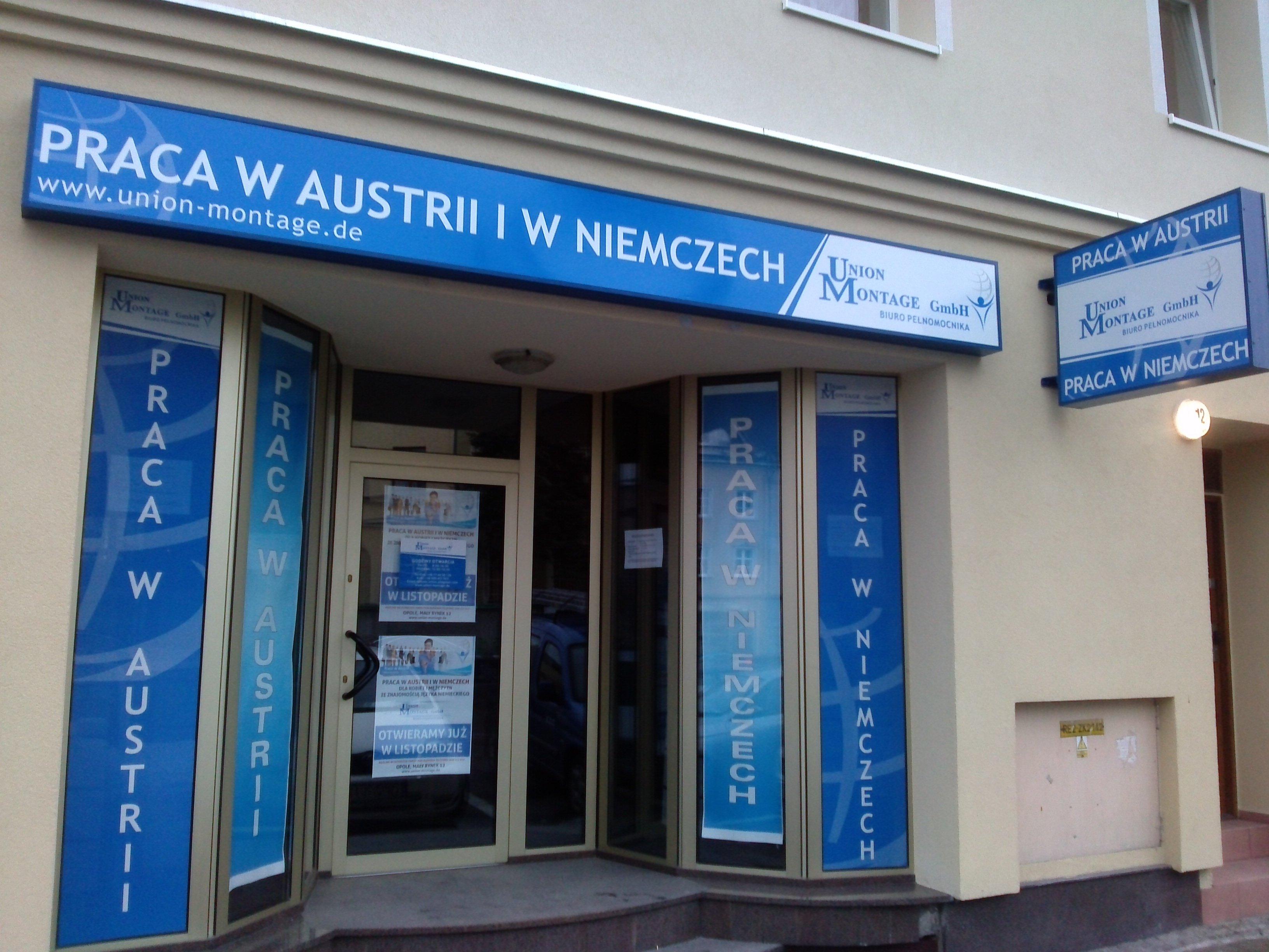 Praca w Austrii i w Niemczech