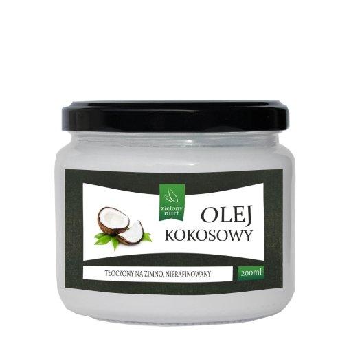Olej Kokosowy 200 ml, zielony nurt