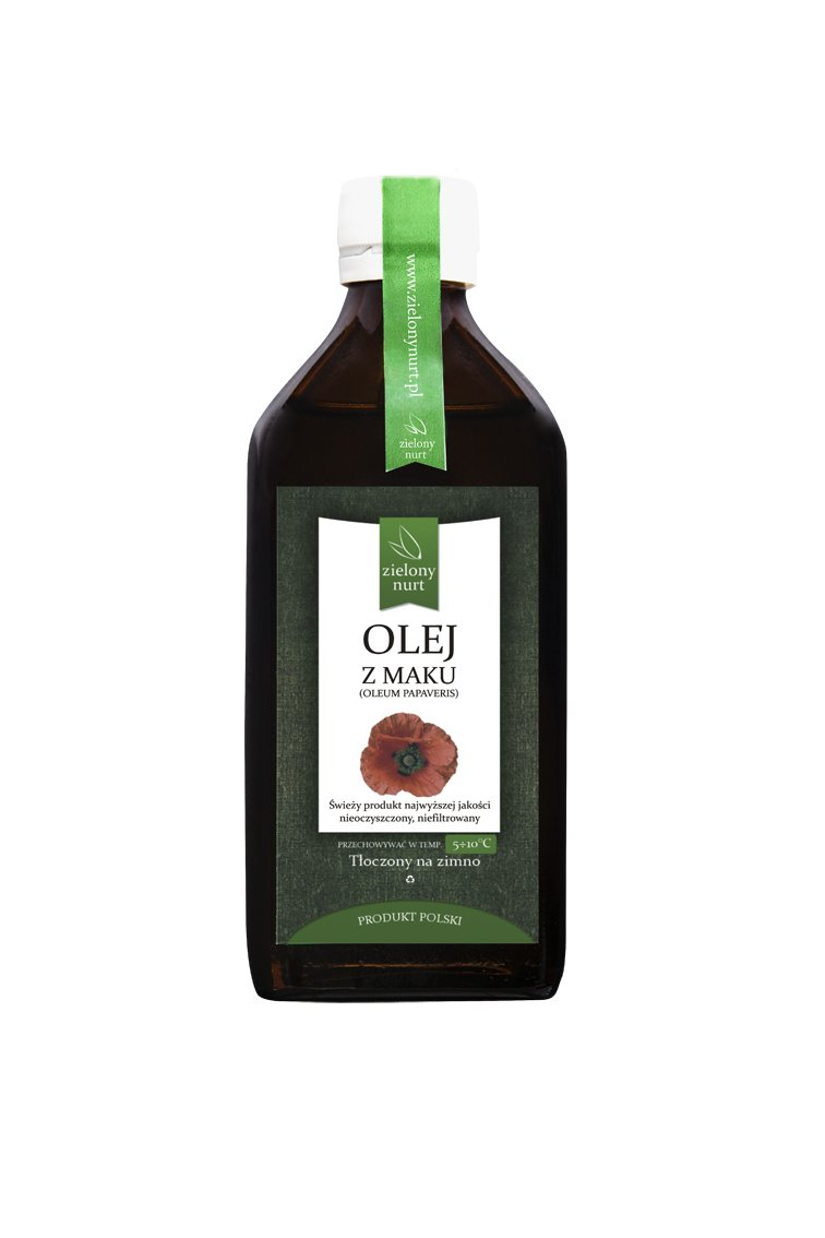 Olej z Maku 100 ml, zielony nurt