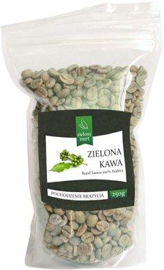 Zielona Kawa Brasil Santos 100% Arabica 250 g, zielony nurt