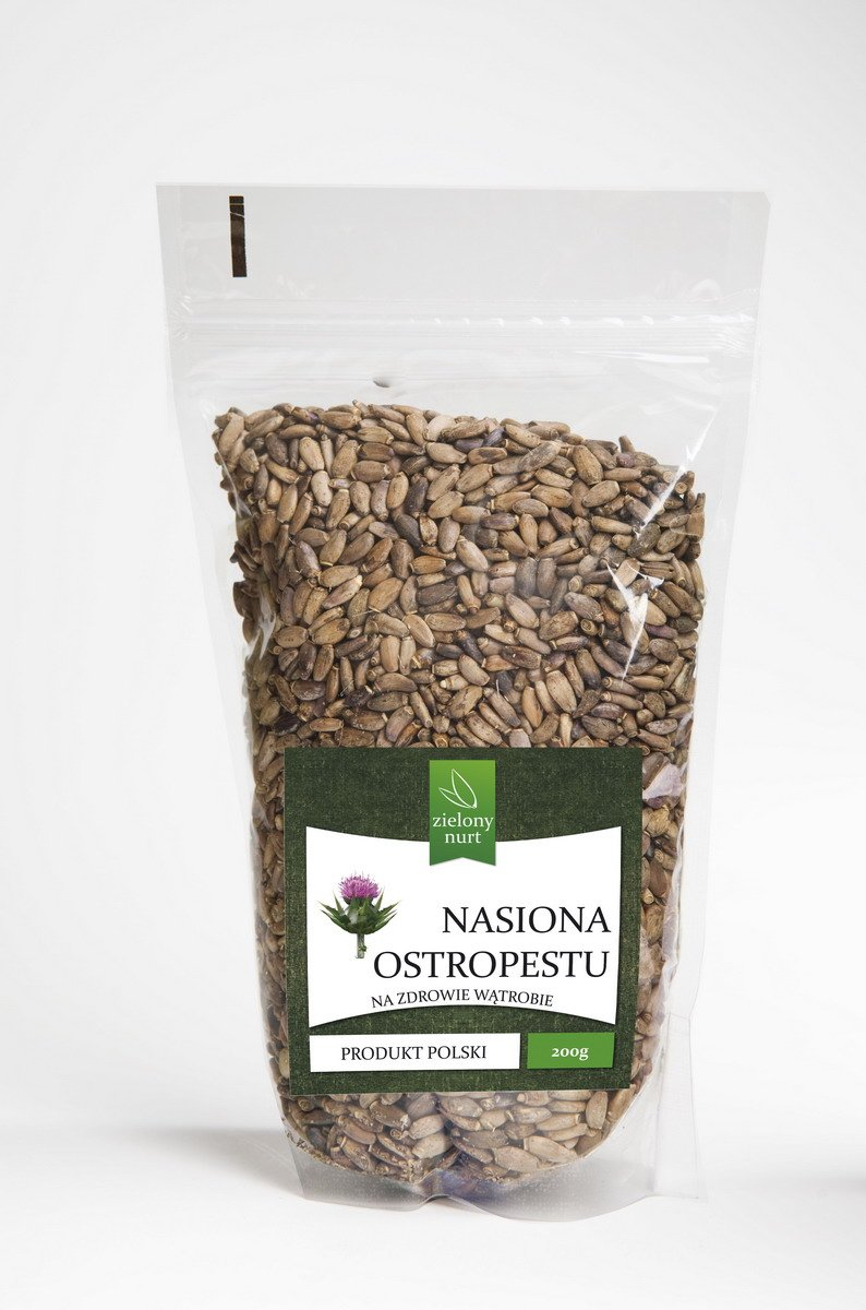 Nasiona Ostropestu 200 g,zielony nurt