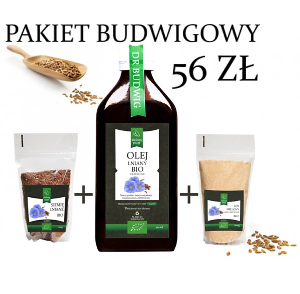 Pakiet Budwigowy BIO, zielony nurt