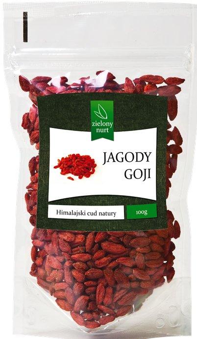 Jagody Goji 100 g, zielony nurt