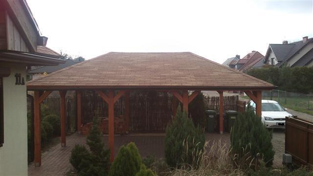 solidne wiaty garażowe www.drew-cons.pl
