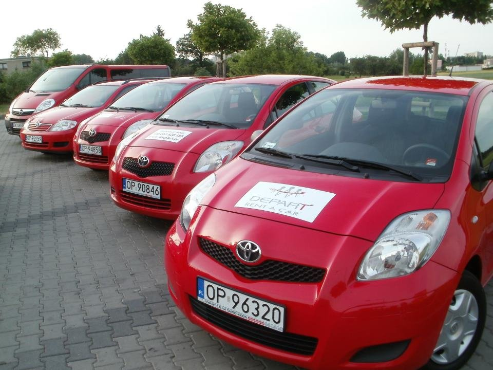 Wypożyczalnia samochodów - Depart Opole