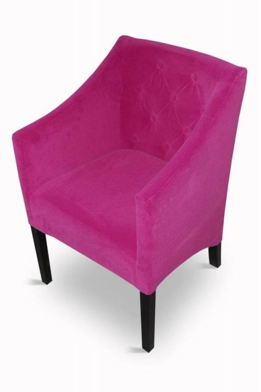 Fotelik fotel krzesło pikowane krzesła z 84 cm wys. łuk