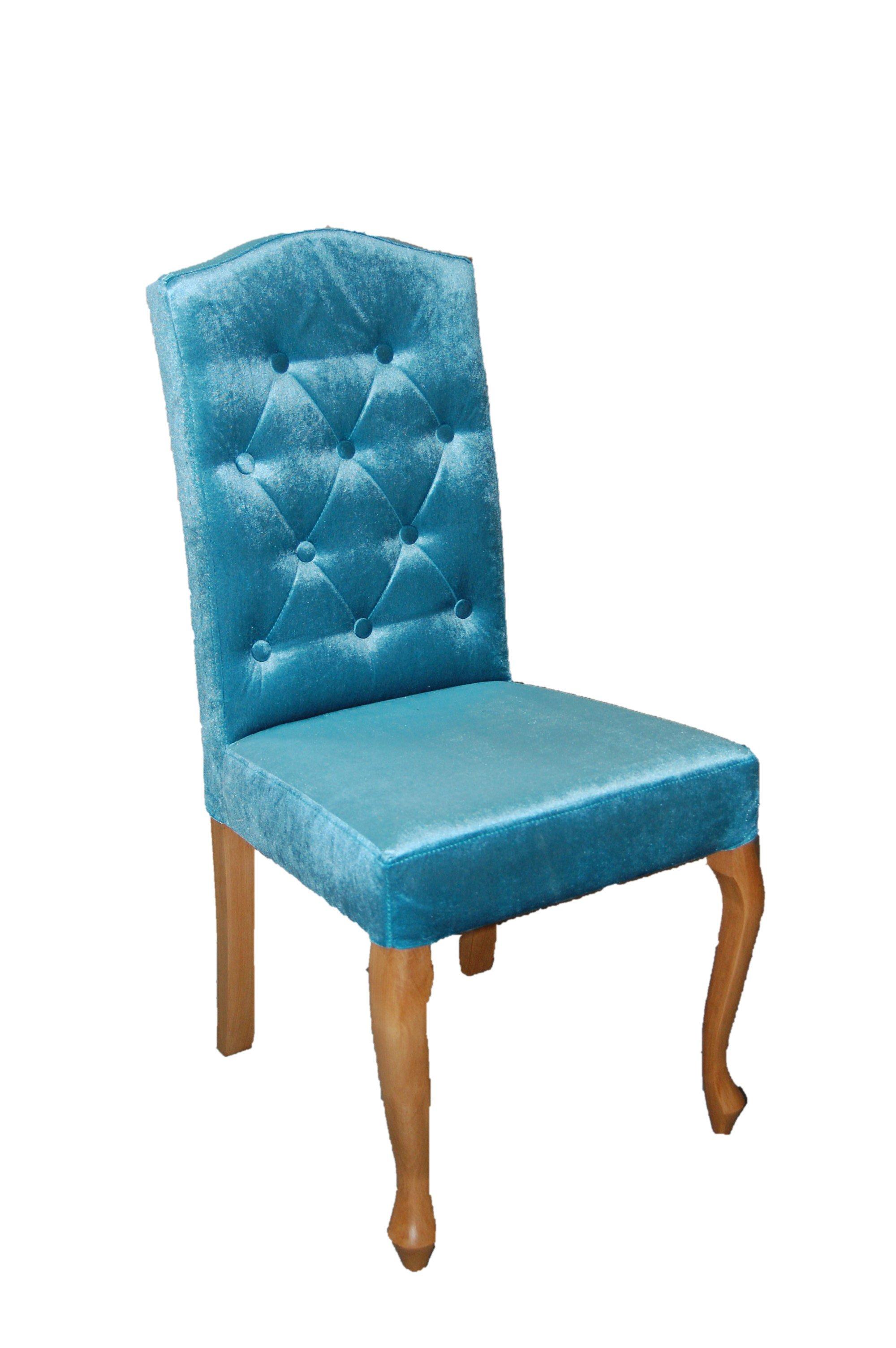 Krzesło ludwik 98 cm wysokość oparcia - tkanina do wyboru.