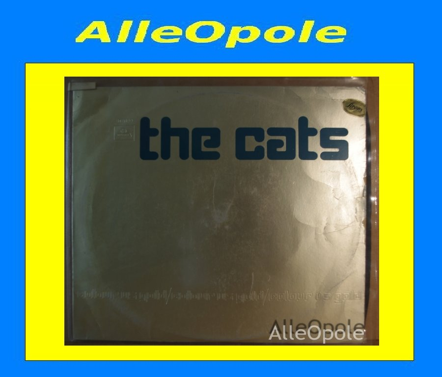 THE CATS Colour Us Gold LP Opole 0202