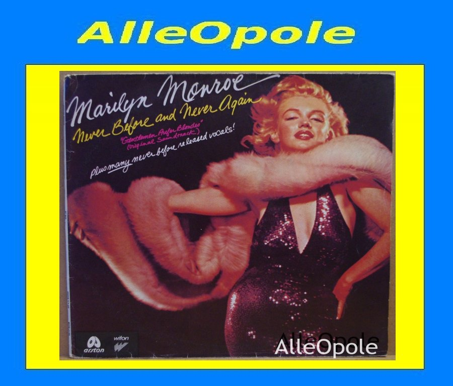 MARILYN MONROE - NEVER BEFORE AND NEVER AGAIN LP Opole 0230