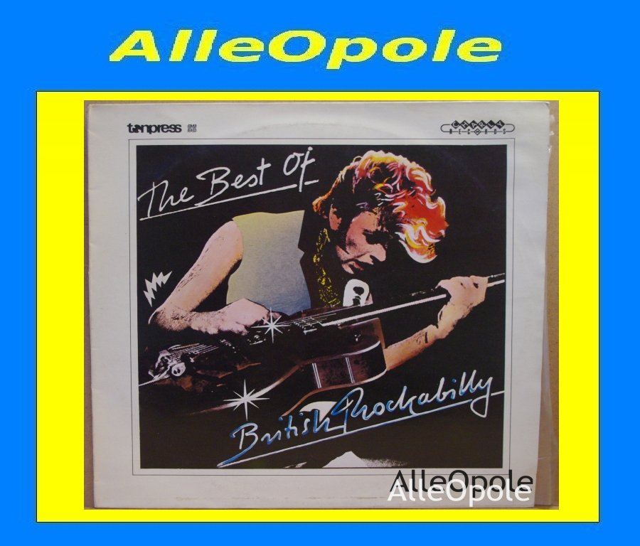 The Best Of British Rockabilly LP Opole 0244
