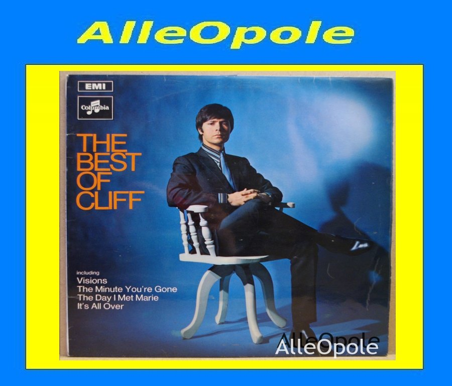 Cliff Richard - The Best of LP Opole 0255