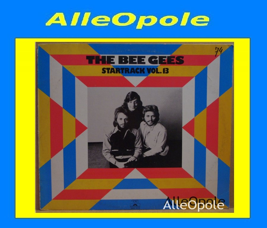 THE BEE GEES STARTRACK VOL.13  LP Opole 0260