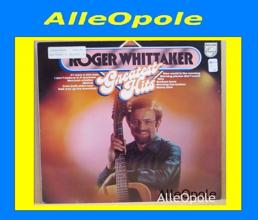 Roger Whittaker - Greatest Hits LP Opole 0269
