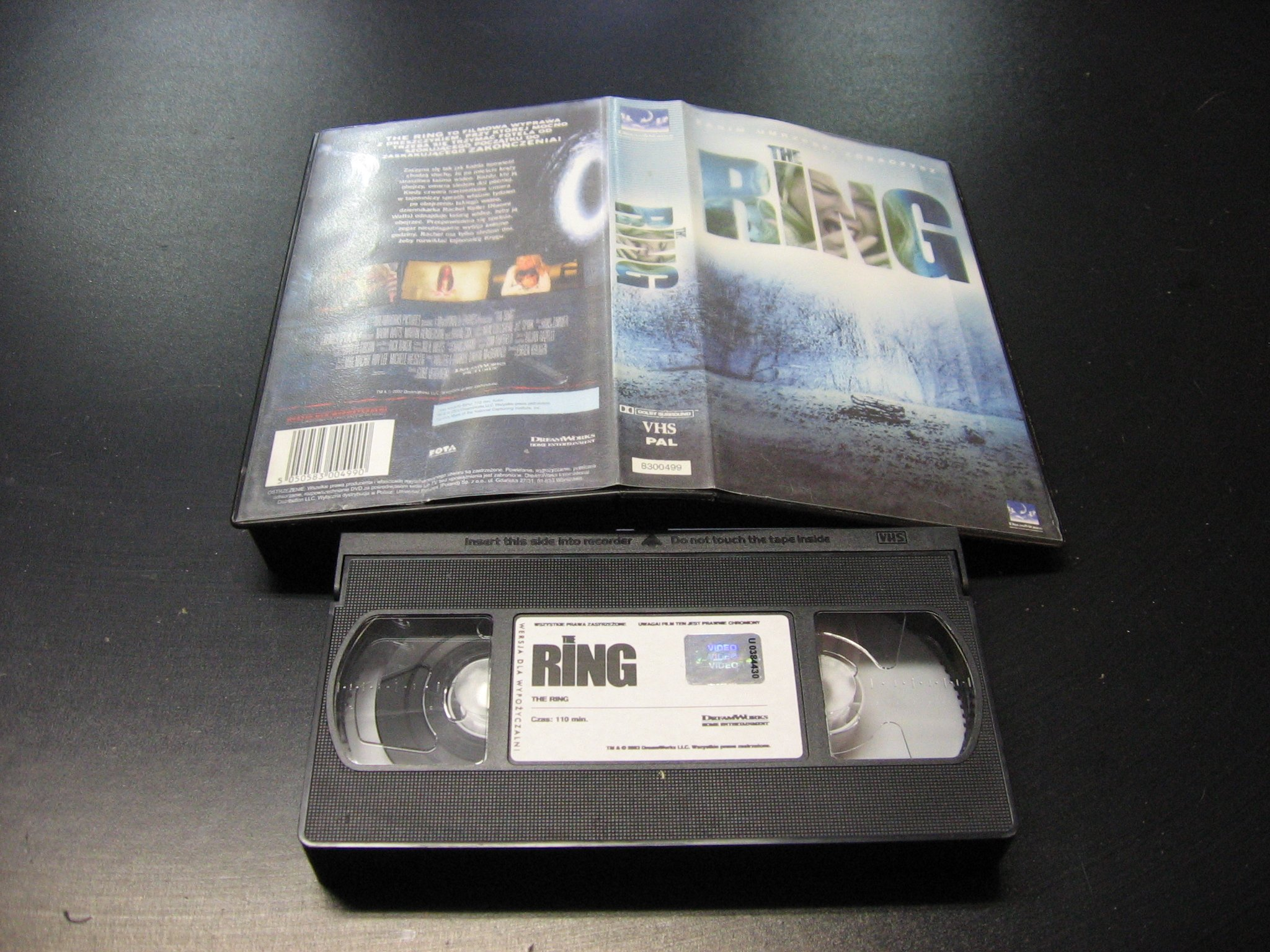 THE RING ```````````` VHS ```````````` Opole 0798 AlleOpole.pl