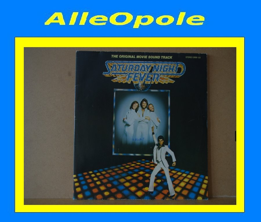 SATURDAY NIGHT FEVER - SOUNDTRACK - 2 LP Opole 0282