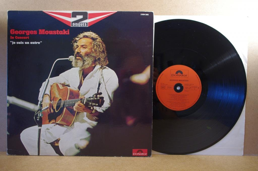 Georges Moustaki- in concert 2 LP Opole 0313