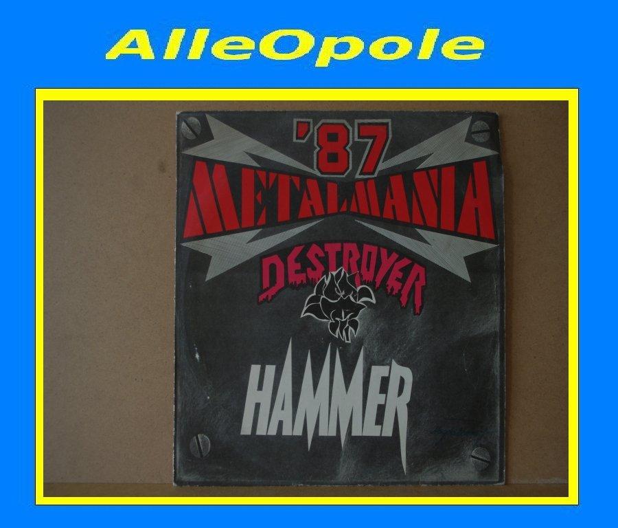METALMANIA 87-HAMMER LP Opole 0290