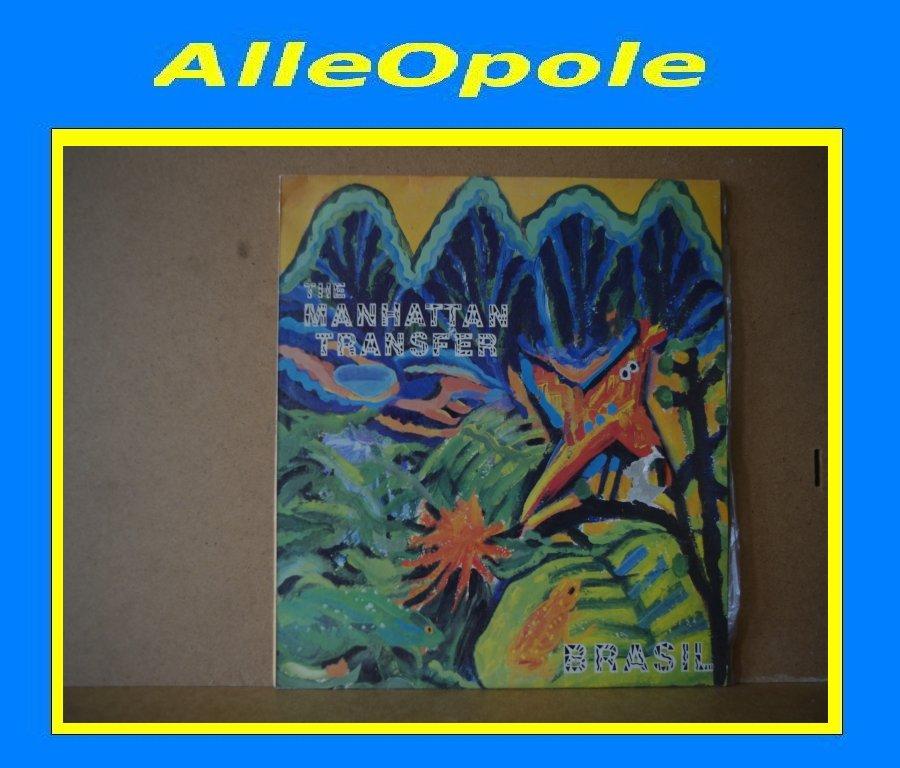 THE MANHATTAN TRANSFER - BRASIL LP Opole 0299