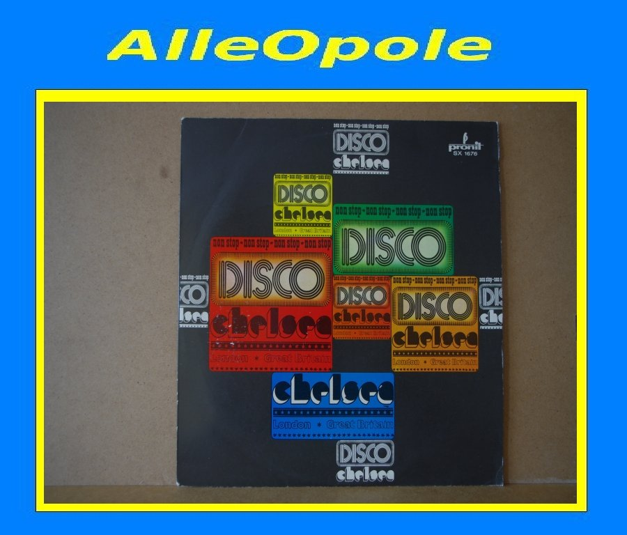DISCO CHELSEA NON STOP LP Opole 0300