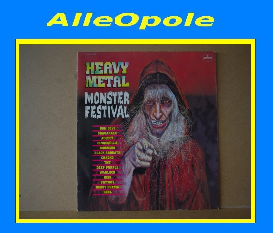 Heavy Metal Monster Festival LP Opole 0302