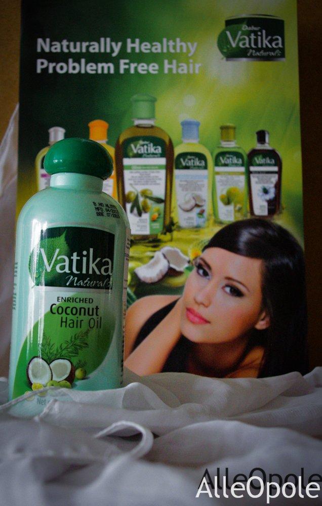 Olejek kokosowy do włosów Vatika 150ml