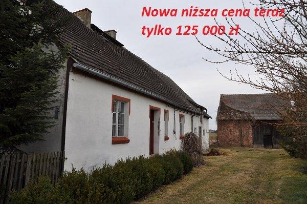 Dom z budynkiem gospodarczym na sprzedaż Nowa niższa cena 125 000 zł