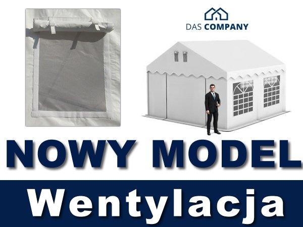 Namiot Handlowy 4m x 4m - nowy model