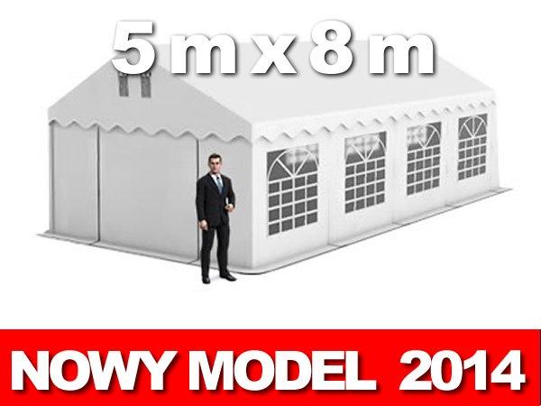 Namiot Handlowy 5m x 8m - nowy model