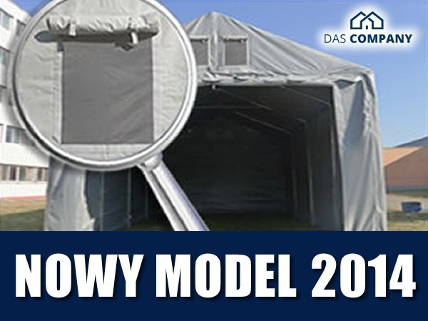 Namiot Magazynowy 3m x 4m  - nowy model