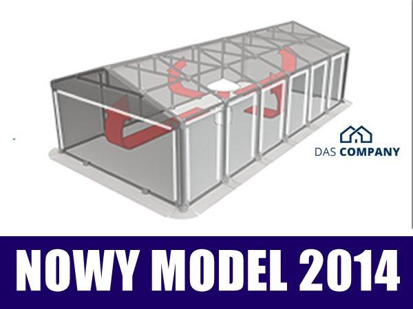 Namiot Magazynowy 3m x 6m - nowy model