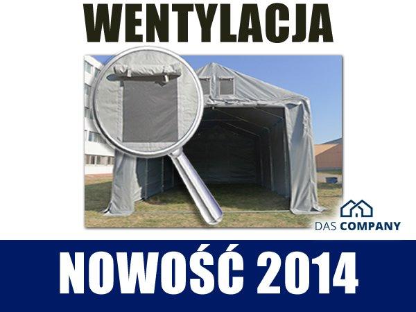 Namiot Magazynowy 4m x 8m  - nowy model