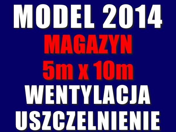 Namiot Magazynowy 5m x 10m -nowy model