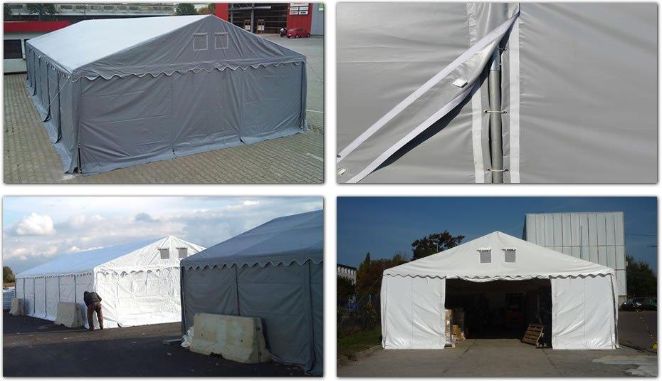 Namiot Magazynowy 6m x 12m - nowy model