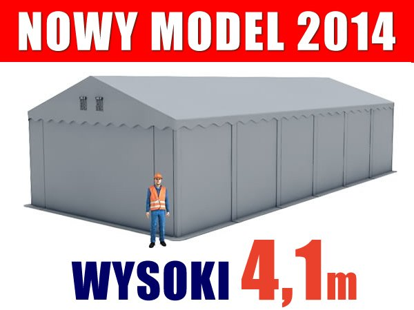 Namiot Magazynowy 6m x 12m  PROFESSIONAL - nowy model