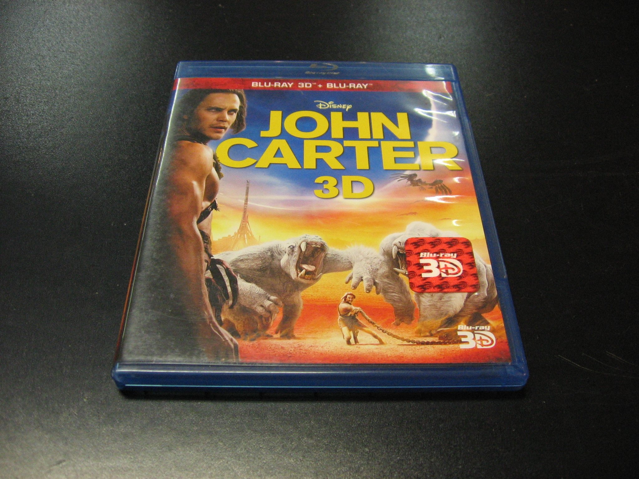 JOHN CARTER - Płyty Blu-ray 3D - Opole