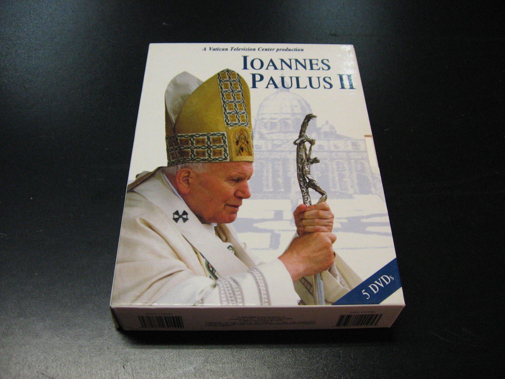 IOANNES PAULUS 2 ```````````` 5 DVD ```````````` Opole  AlleOpole.pl