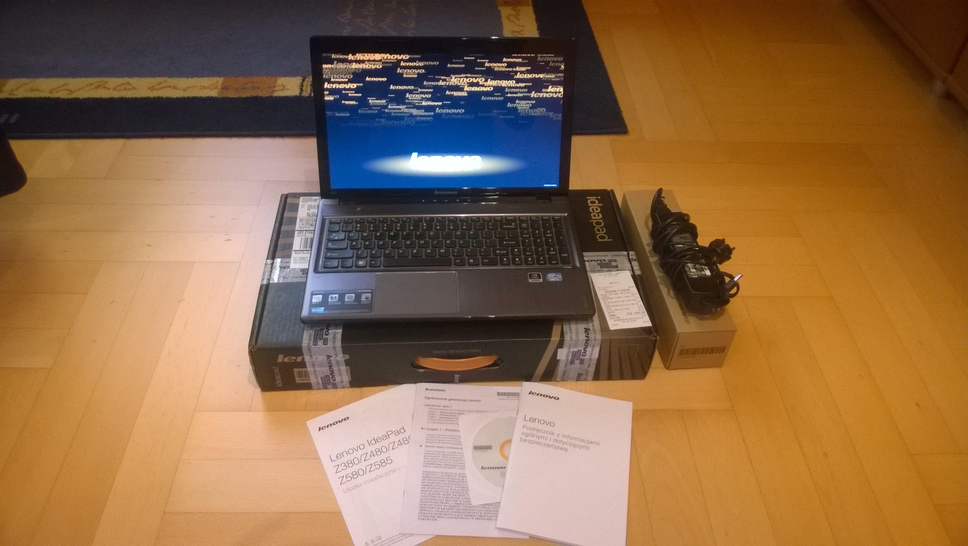 Laptop Lenovo Z580