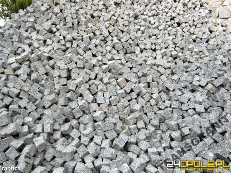 Kostka Granitowa oraz inne wyroby z granitu Punkt sprzedaży w Opolu