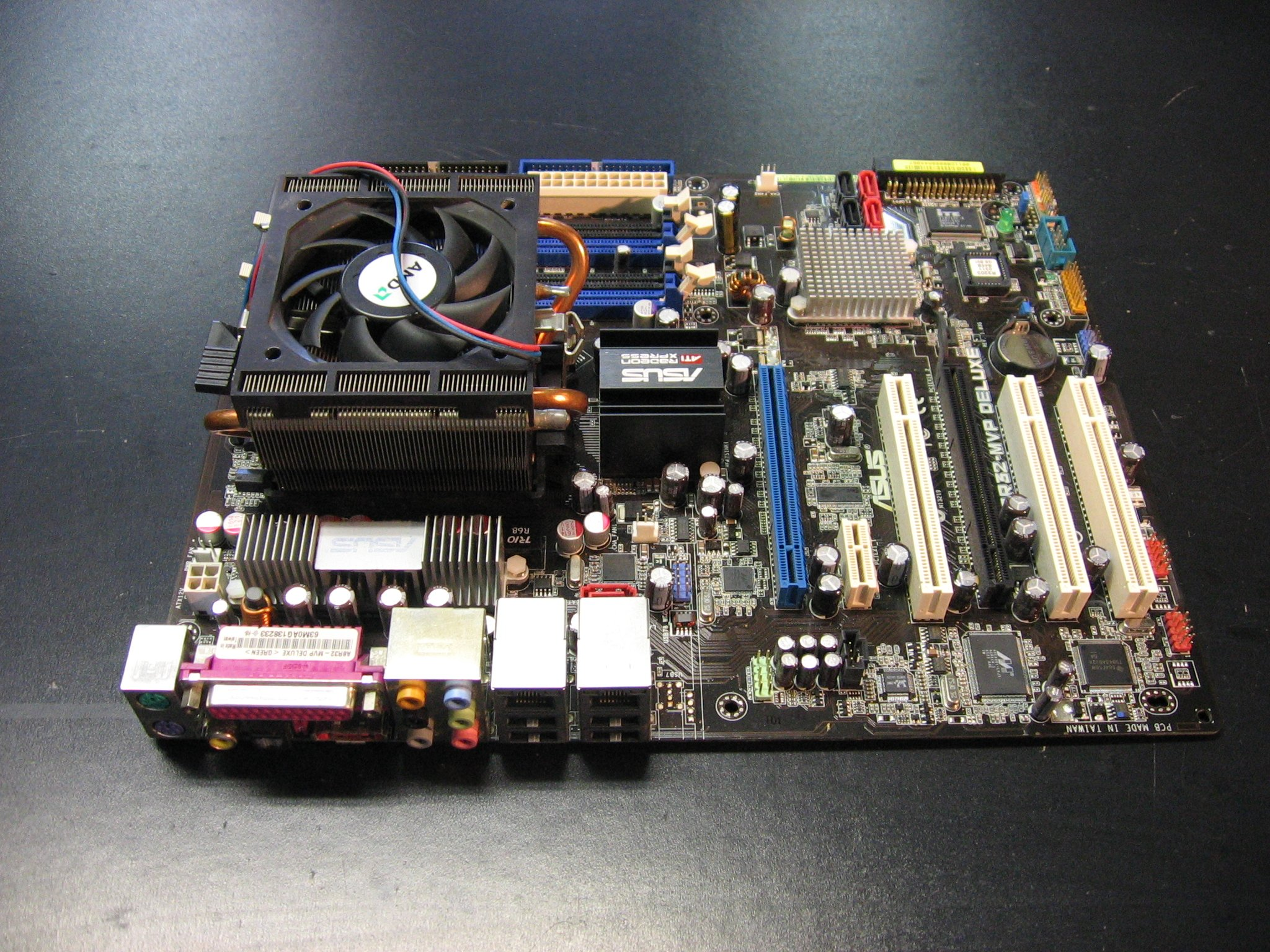 Płyta Asus A8R32-MVP Deluxe + AMD Athlon 64 X2 4800 + Radiator Opole AlleOpole.pl